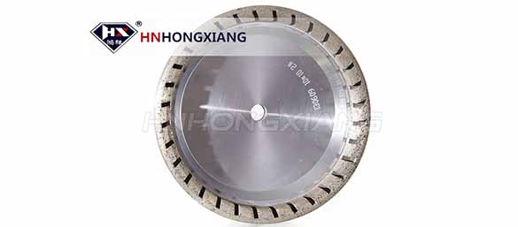 Long Serve Life Of Internal Segmented Diamond Wheel For Glass