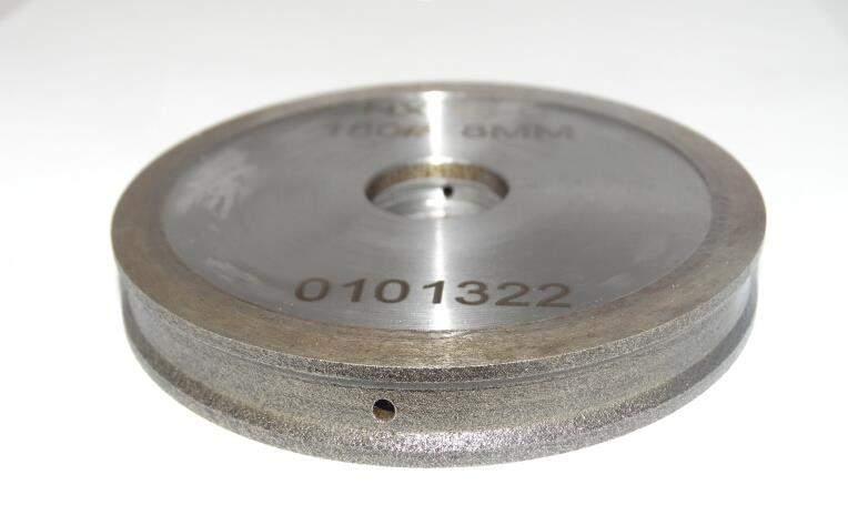 TRAPEZOIDAL EDGE DIAMOND WHEELS (FA) For Processing Glass Edge Into Tropezoidal Shaped