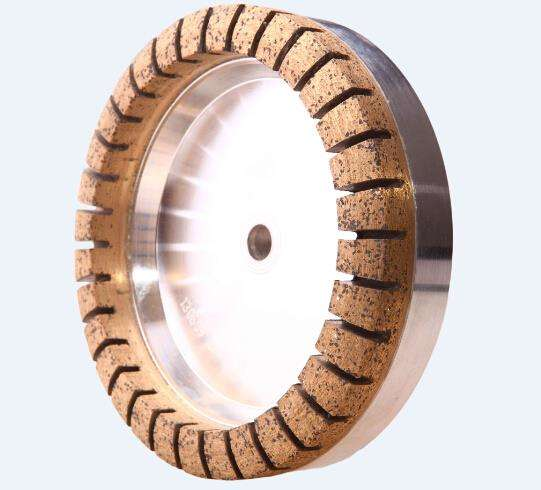 CUP Shaped Diamond Wheel With Full Segmented For Coarse Grinding Glass